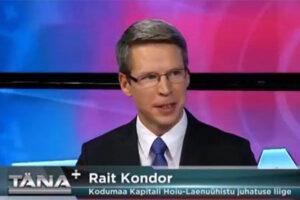 Kodumaa HLÜ juhatuse esimees Rait Kondor räägib Ühistupanganduse teemadel Tallinn TV-s